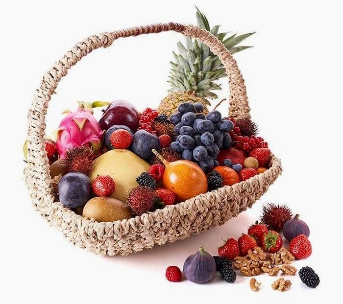 Подарок маме фруктовая корзина