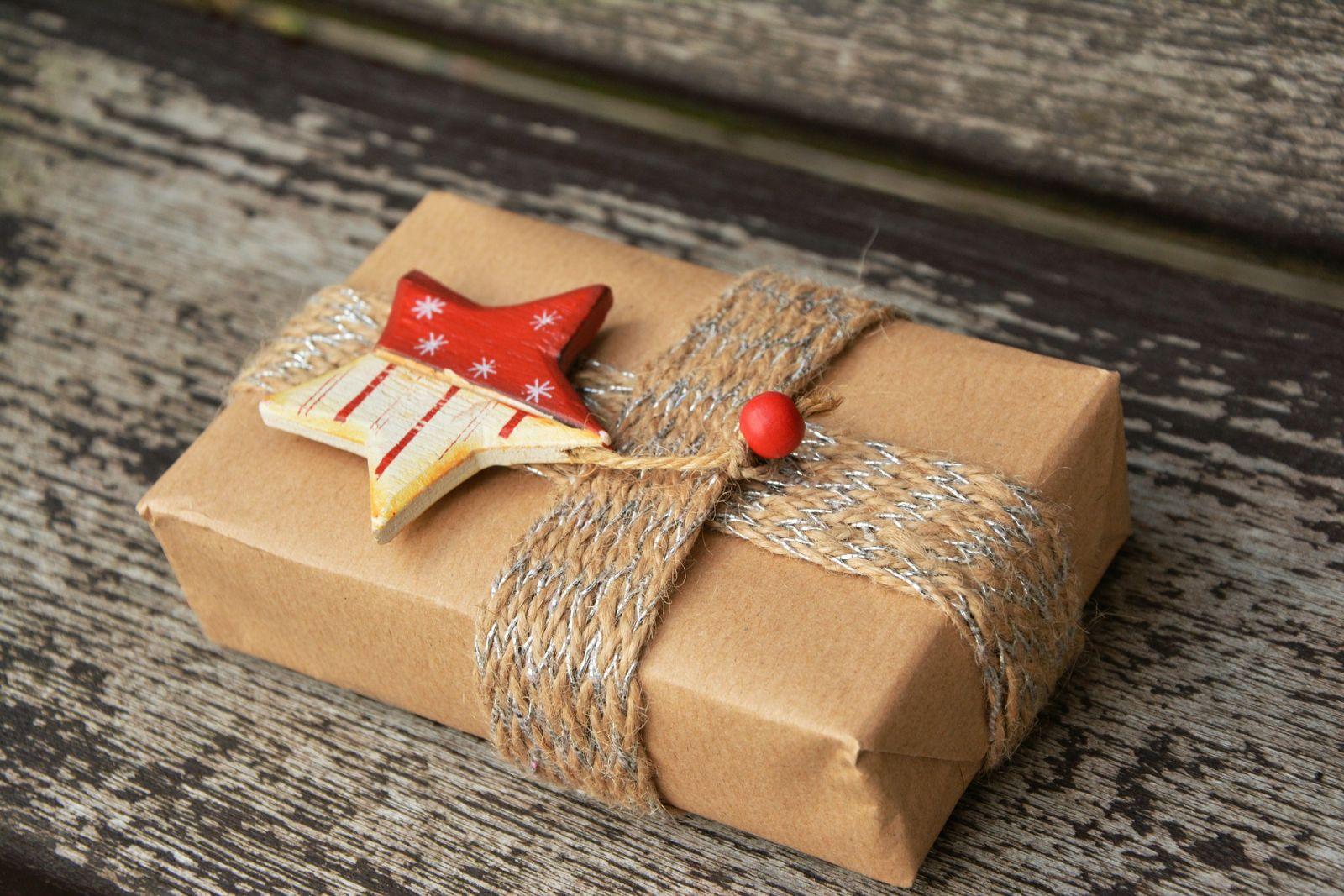 Подарок маме упаковка