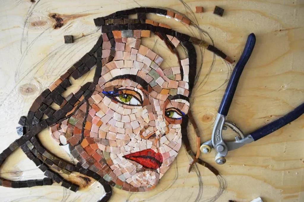 Портрет-мозаика